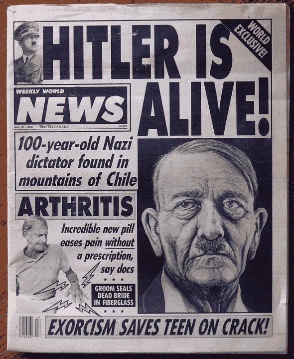 hitler did not die