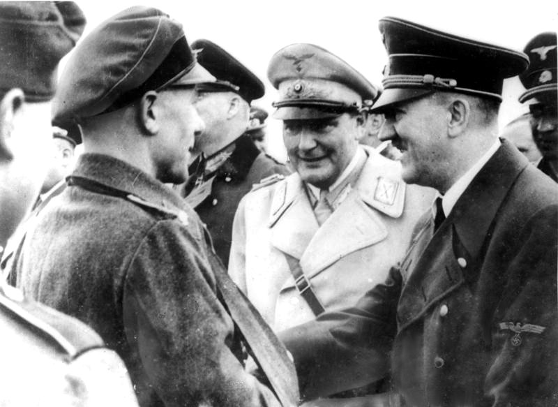 Did the real Hitler or a double of him die in his bunker in spring of 1945?