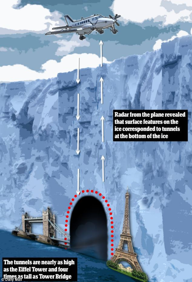 Researchers Concluded That The Placement Of The Tunnels